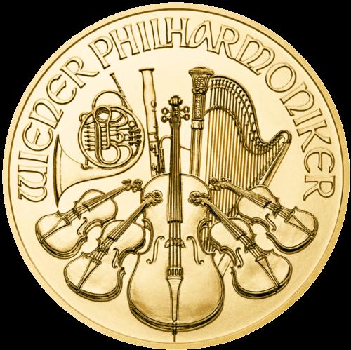 1 Unze Gold Wiener Philharmoniker 2021 (mehrwertsteuerfrei)