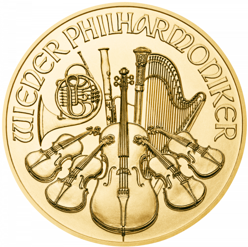 1 Unze Gold Wiener Philharmoniker 2021 (lagernd Frankfurt)