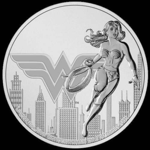 1 Unze Silber Niue DC Comics Wonder Woman 2021